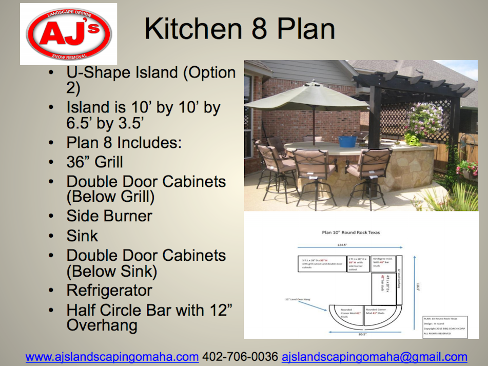 outdoor kitchens omaha landscaping